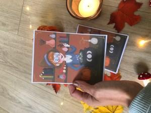 carte potion magique print Retrouvez la petite sorcière en pleine confection de potion magique en format carte. 9,5/13cm Imprimée sur papier photo mat 300g